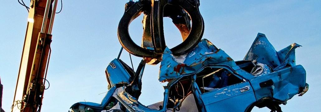 Изкпуване и прераотване на коли за вторични суровини